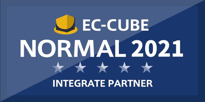 EC-CUBE インテグレートパートナー「ノーマルランク」に認定されました